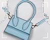 ṩWaist Bag Blue