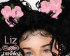 Pink Kids Hair Flower