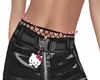 belly chain~kitty cat