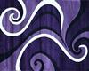 PurpleWavesRug