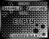 .L. Empty Der Furn Wall