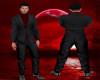 Formal Black Red Suit