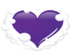 heart of the iris badge
