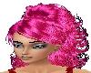 pink hair in ponytail