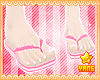 *Y* Pink Flip Flops