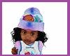 kids mermaid beanie hat