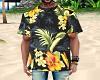 Hawaiian Print Shirt [M]