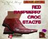 DM:RED RASPBER CROC STAC