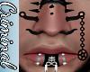 M| Penta Nose Chain Blk