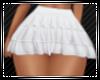 White Ruffle Skirt RL