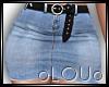 .L. Bek Skirt Blue RLL
