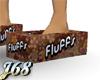 J68 Tissue Slippers Rust