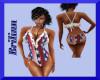 [B]4th of July Swim Suit