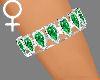!Hearts bangles emeralds