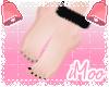 Bare Feet | Black Nails