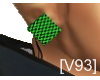 [V93] CHECKERED CLIP ONS