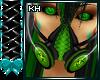 CyberGoth Green Gas Mask