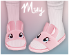 ! Bunny slippers (pink)