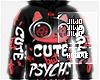 !J But Psycho Hoodie M