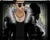 [AX]M-Silver Fur Jacket
