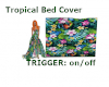 Tropical Bed Cover