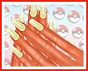Flareon Nails
