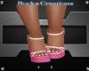 Pink Camo Sandals