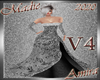 !a Amira Gown Silver V4