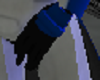 Blue Commander Glove