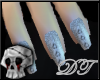 {DT}Diamond Heart Nails