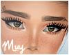 m. Bay brows slit + tat