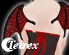 Lace Bat : Red