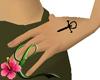 Tattoo cruz vampirica