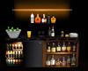fridge an drink stand