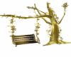 Animated Gold tree Swing