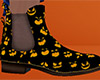 Halloween Faces Boots M