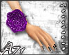 A- Purple Flower Band_W