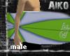 [Aiko]Surfboard Green