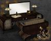 Steampunk Deco Vanity