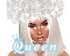 QUEEN crystal  Fur Hat