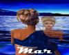 Mar - SpikeDresMd Blu/Gd