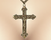3D Crucifix with chain