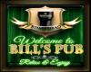 Bill's Pub Sign