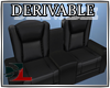 (DL)Modern Leather Couch