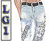 LG1 Good Vibes Jeans ICB