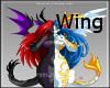 Ying Yand Dragon Wings