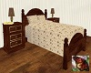 219 Chocolate Twin Bed