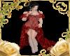Crimson Rose Gown