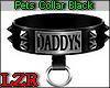 Pets Collar Black Daddys