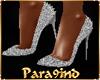 """P9)ZOE""""Sexy Silver Heels"""